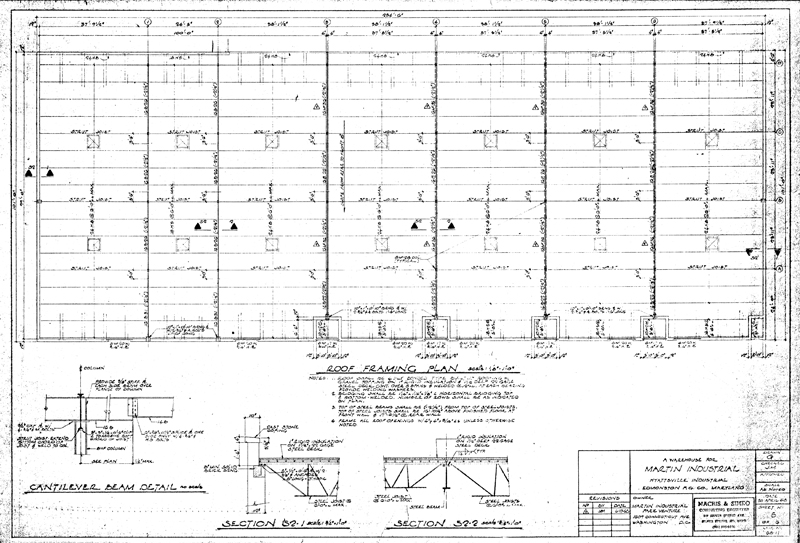 Steel Buildings Drawings Building 1 Steel Framing