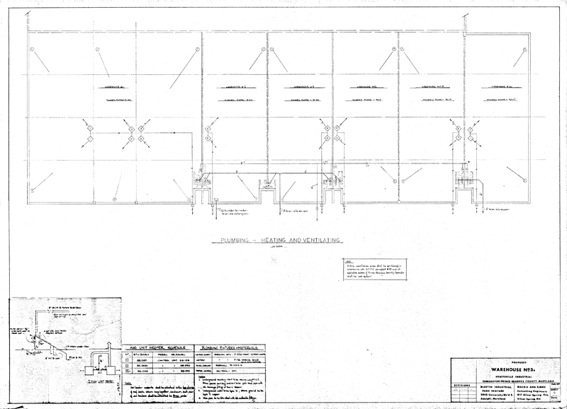 Martin Industrial Park Building 3A Drawings – Plumbing Plan Pdf