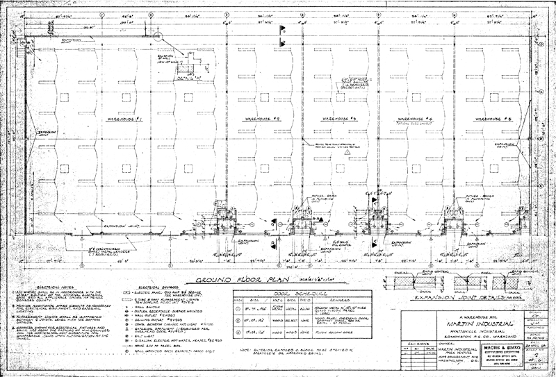 Martin Industrial Park Building 1 Drawings House Electrical Schematics Mobile Home Electrical Wiring Diagram Building Electrical Wiring Diagrams At IT-Energia.com