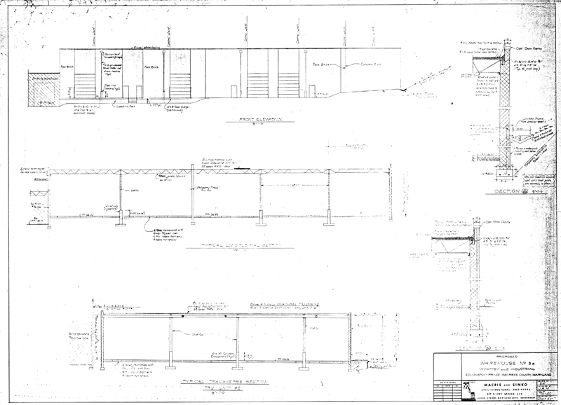 Civil Engineering Plan Elevation Section : Building drawing plan elevation section pdf