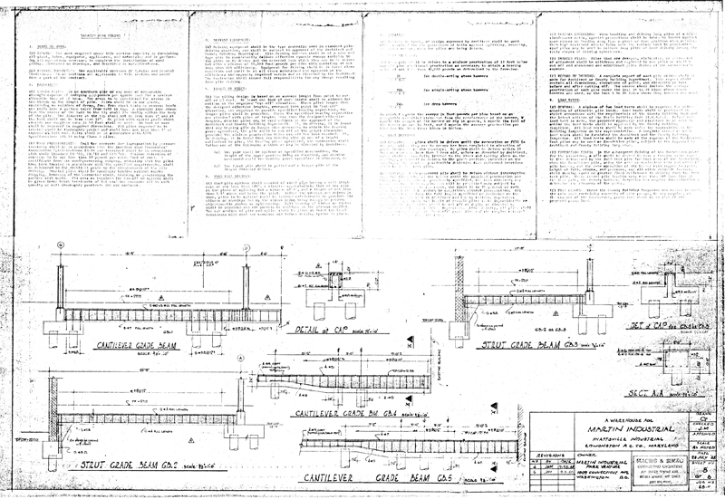 Martin Industrial Park :: Building 1 Drawings